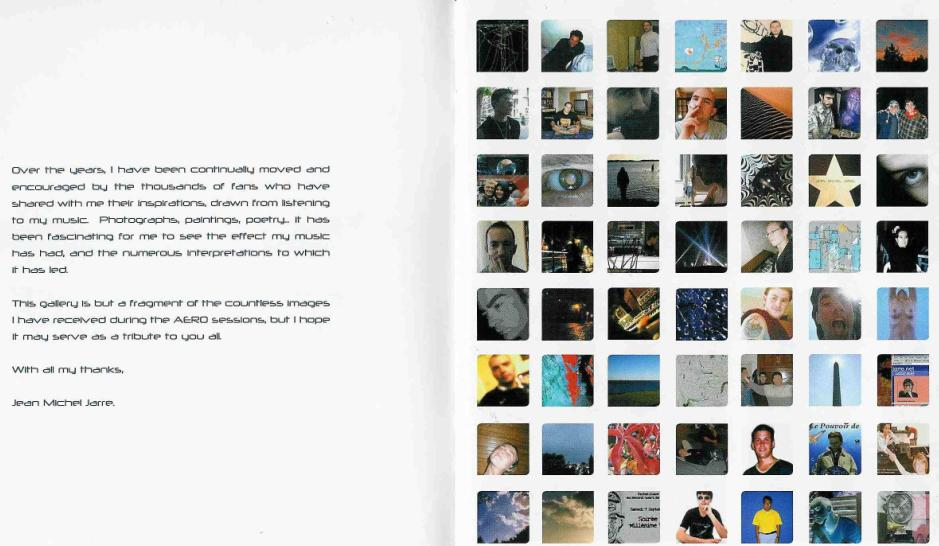 Jean Michel Jarre - Aero (Booklet) - Back (1)