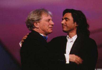 Pai e filho, músicos talentosos