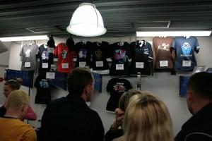 Loja de souvenirs da turnê