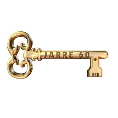 Eis a Chave de Ouro da Exposição Jarre 60 Anos!!!