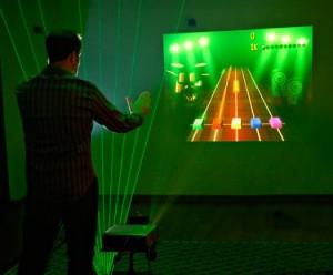 Laser Harp Hero