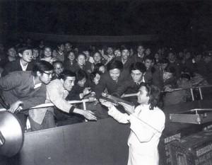 Jarre na China em 1981