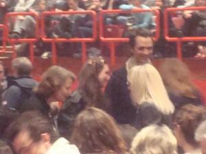 Charlotte Rampling, David Jarre e sua irmã Emilie Jarre