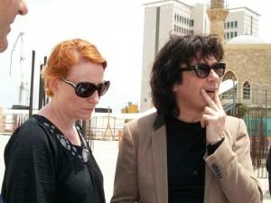 Jarre e Fiona em Bucareste