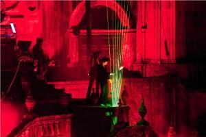 A Harpa Laser não poderia faltar nesta festa!