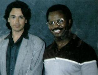 Jarre e Ron McNair (1985)