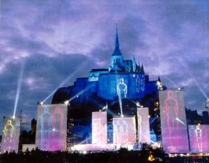EiC - Mont Saint Michel durante o concerto - 1993