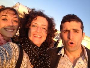 Beryl Koltz com o duo francês KIZ