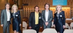 Chico Bouchikhi(Fundador da banda Gipsy Kings) , Jean Michel Jarre , Marianna B. Vardinogianni