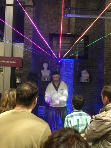 Harpa Laser testado pela Politécnica Francesa