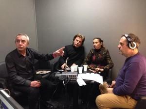 Jean-Michel Jarre e Agnès Saal (CEO INA-GRM) entrevistados por Bruno Letort e Christian Zanesi.