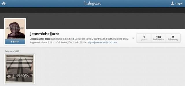 Depois do Blogpost (já abandonado), o MySpace (também abandonado), o Twitter (semi-abandonado), o Youtube (quase morto), o Facebook (o que ele tem usado com mais frequência), agora chegou a vez do músico francês Jean Michel Jarre ter sua própria conta […]