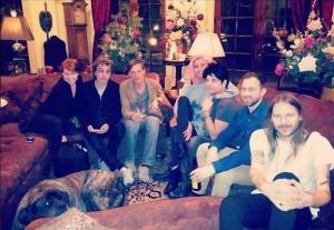 Jarre, Fiona, Numan e amigos...em Los Angeles.