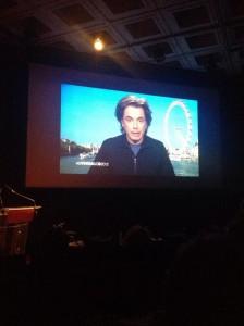 """Forum SCAM (Société Civile des Auteurs Multimedia) - """" Auteurs&Co"""" em Paris,França, escutam Jarre falar direto de Londres."""