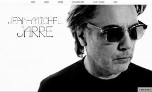 Foto publicitária de J.M.Jarre tiradas por Jean Koch, e usadas em site oficial.