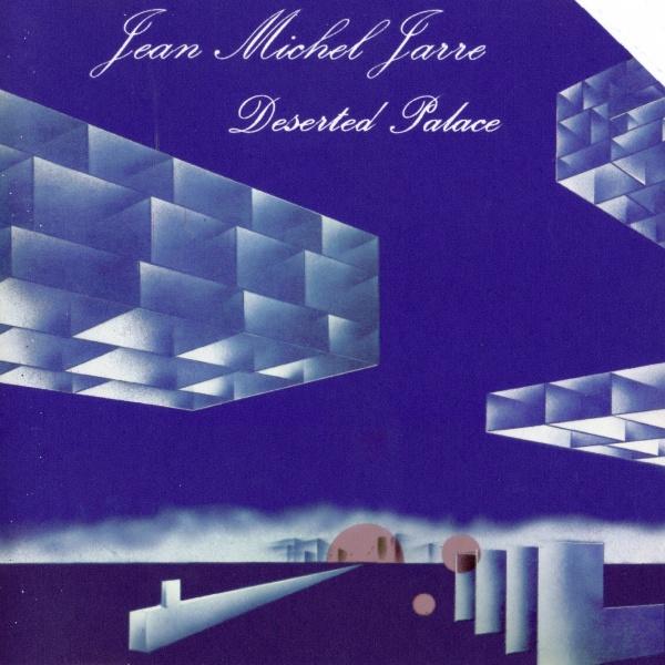 """Capa do álbum """"Deserted Palace"""" inspirado em Corbusier"""