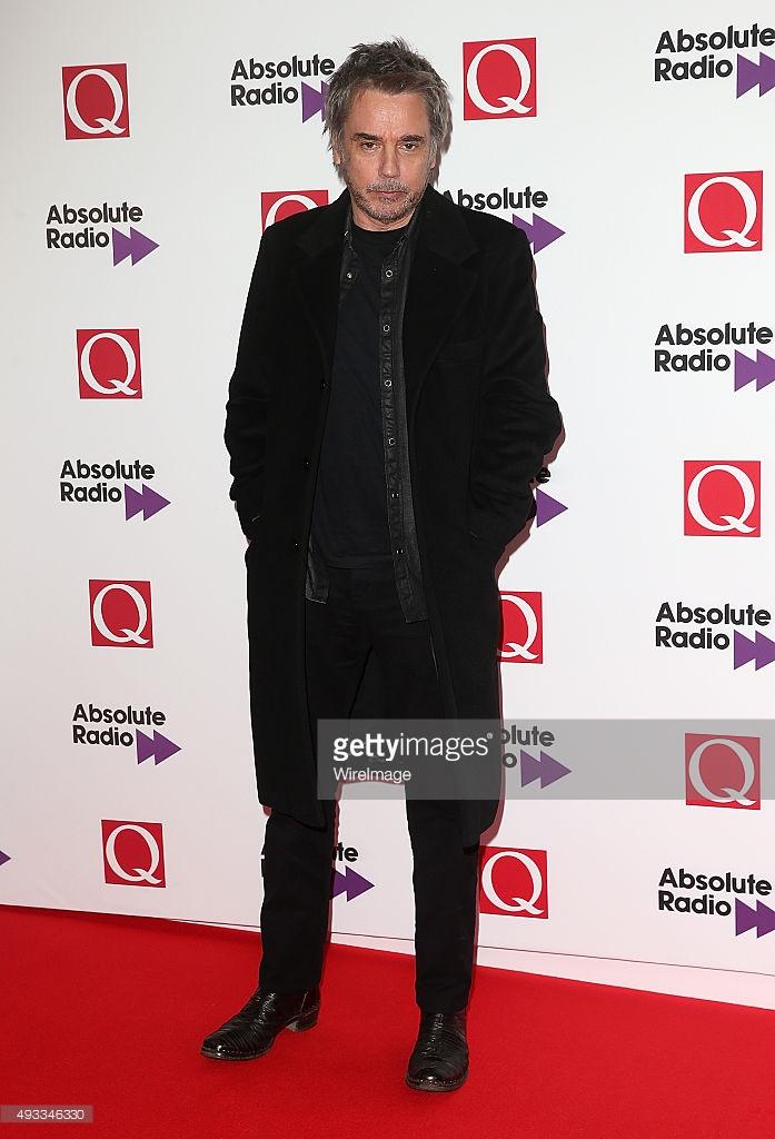 Jarre na premiação da Q Magazine 2015
