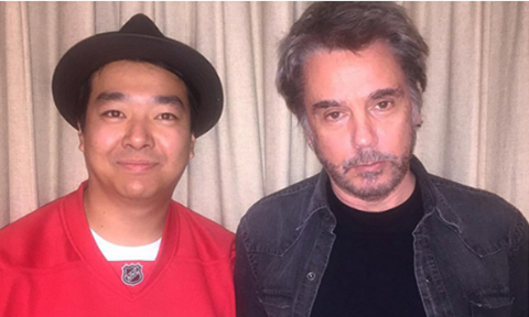 Jean-Michel Jarre & Andrew Hung (Fuck Buttons)