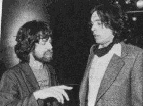 Mick Jagger e Jarre em 1979