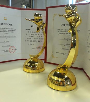 CHINA-PREMIO SOUNDHUNTER