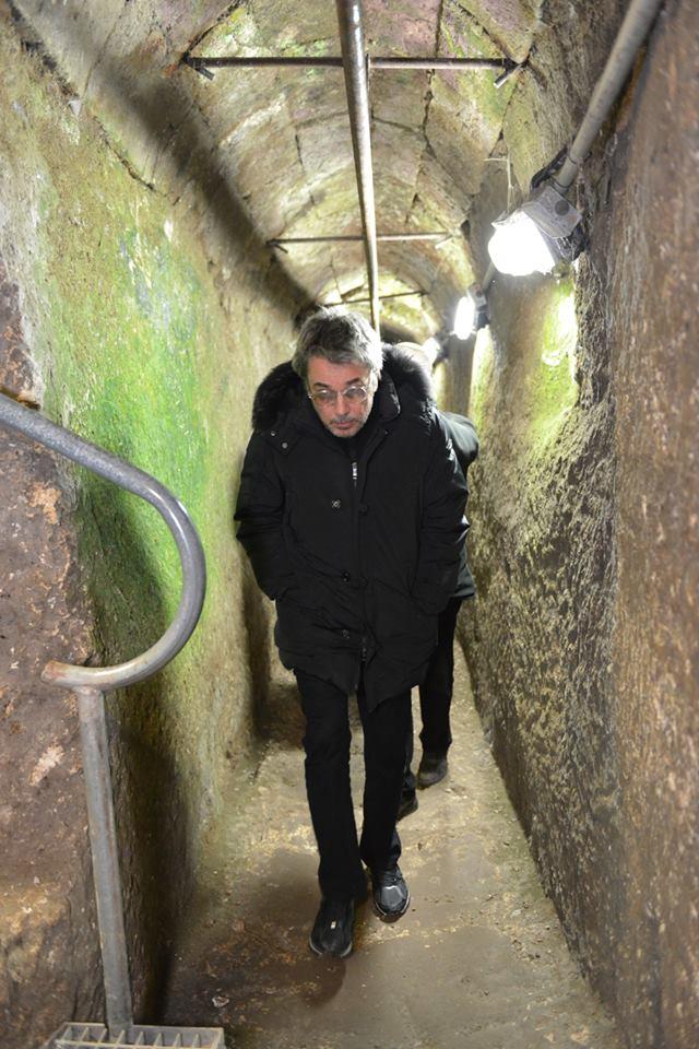 israle muro tunel