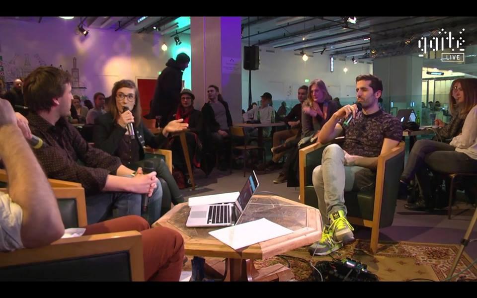 """Membros do duo francês KIZ, falando sobre sua participação no documentário """"Soundhunters"""""""