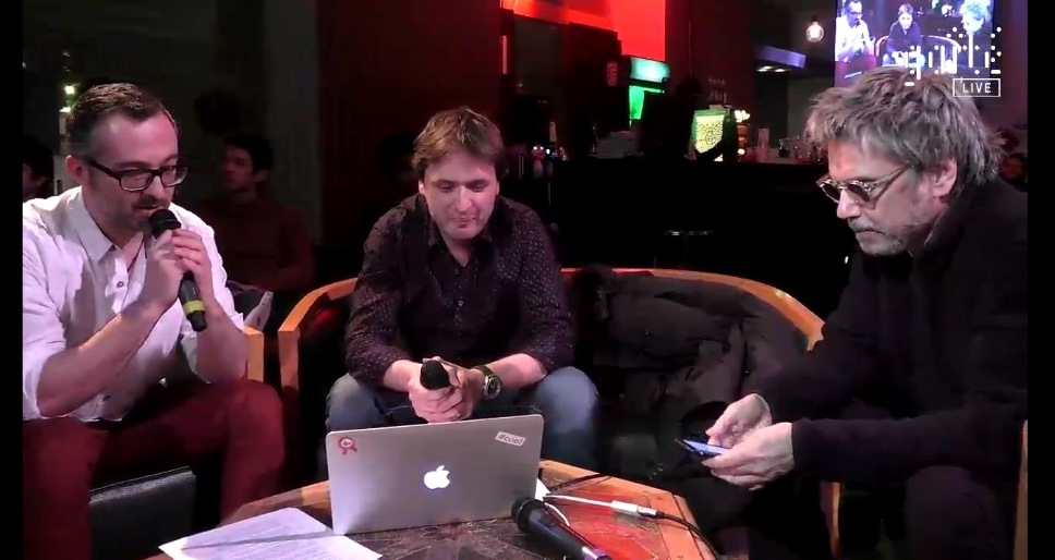 Jarre marcou presença no evento e falou sobre o projeto.