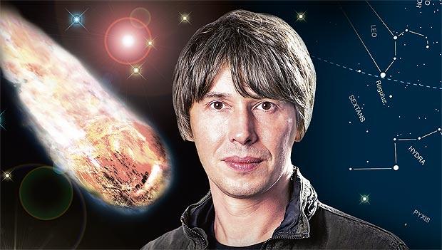 Físico britânico, Prof. Brian Cox.