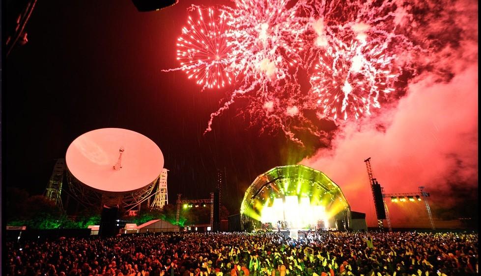 Jodrell Bank já foi palco de outras apresentações de artistas