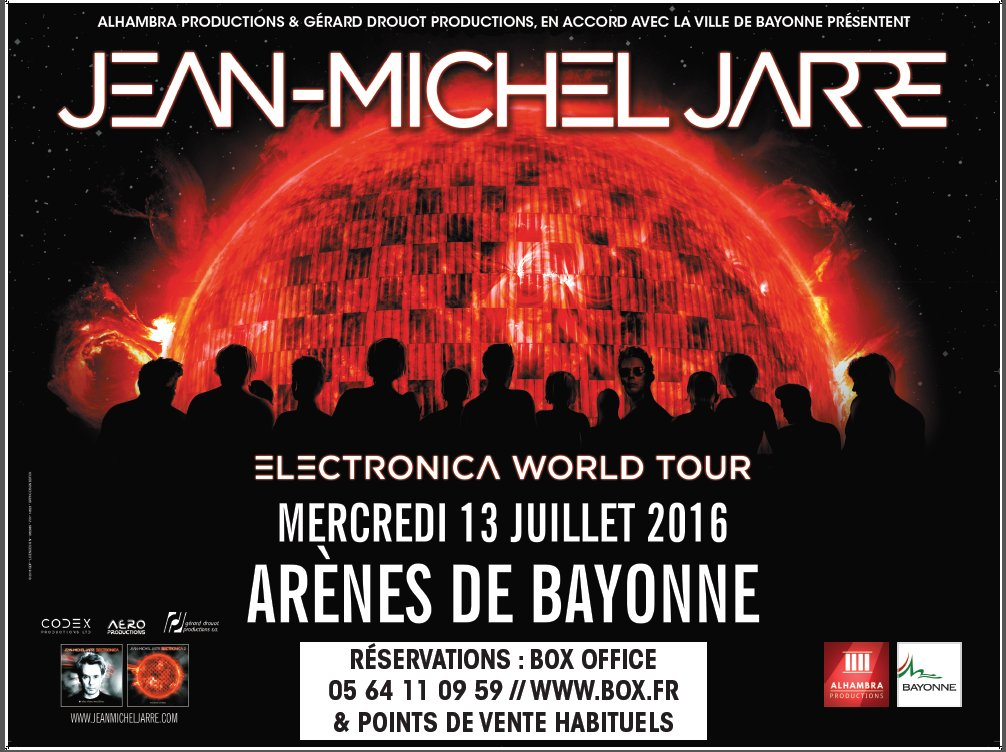 poster electronica tour