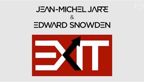 """No dia 28/04 foi lançado oficialmente no canal VEVO e redes sociais de vídeo, vídeo-clip oficial da faixa """"EXIT"""", colaboração entre o músico francês Jean Michel Jarre e o delator americano ex-CIA/NSA Edward Snowden. A faixa """"EXIT"""", fará parte do […]"""
