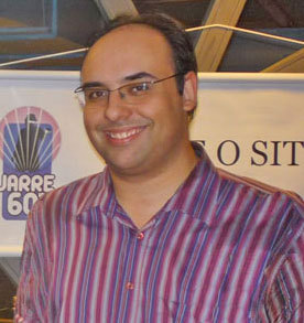 Escritor e Designer brasileiro, Renato Mundt.