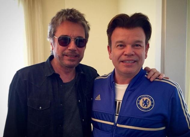 Jarre e Paul Oakenfold se encontram em Los Angeles.