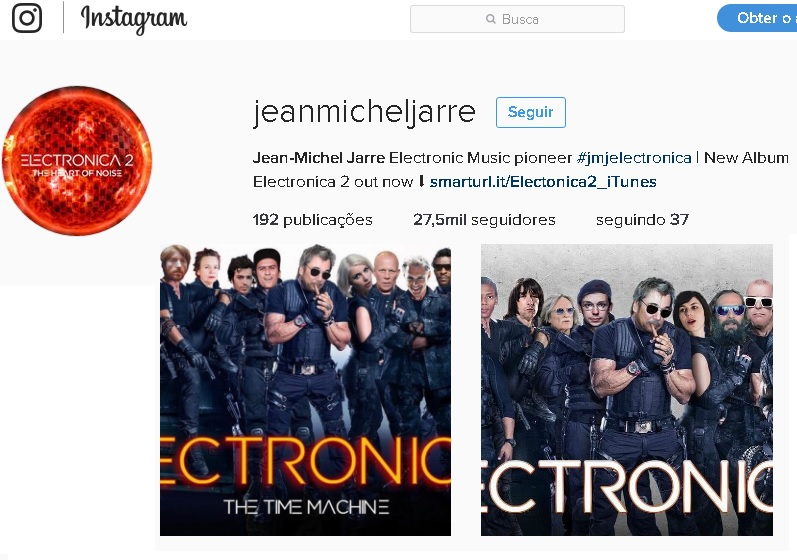 Instagram oficial.