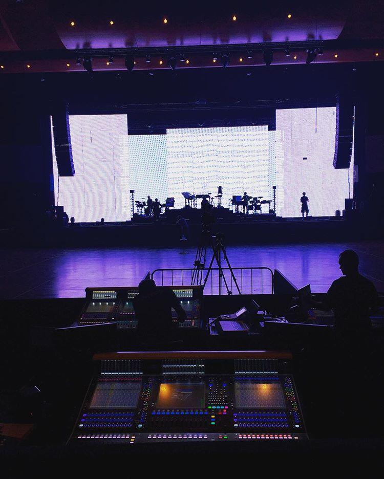 Backstage de Montreux