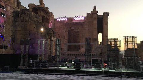 baalbeck palco