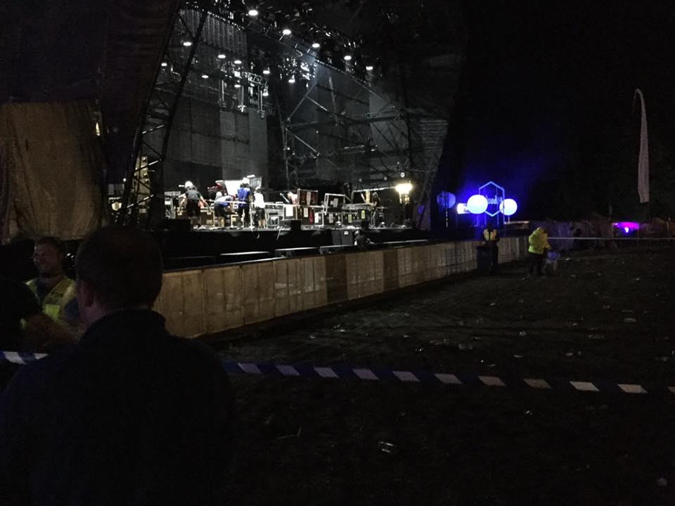 Fim do concerto.