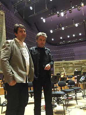 Regente Bruno Mantovan e Jean Michel Jarre