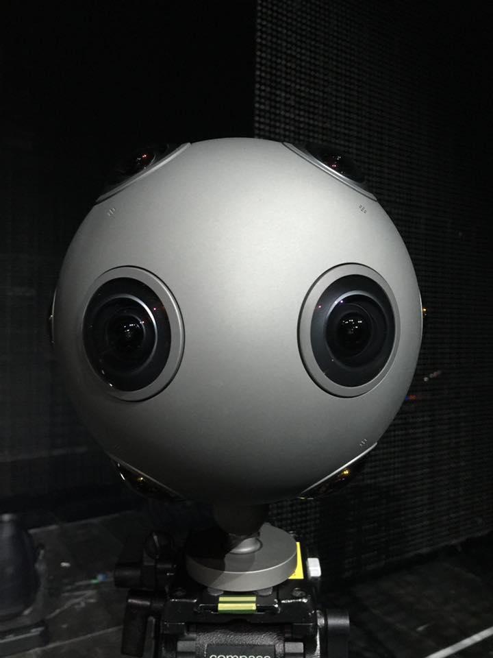 Nokia Ozo 360 VR