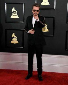 Jarre na entrada do Grammy Awards 2017
